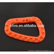 Orange Lightweight medium-sized D shape tactical hooks (ITW) wholesale