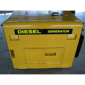 Новый малошумный дизельный генератор 5 кВт