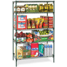 Hotel Restaurant Kitchen Display Storage Rack for Food