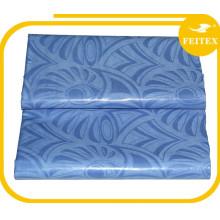Coût 100% coton gris tissu gros abaya africain bazin textiles tissus