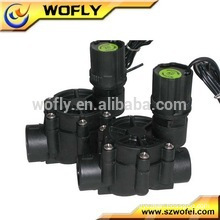 3 inch water solenoid valve electric and plastic water valve