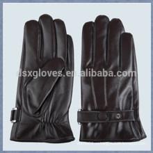 Перчатки для сенсорных перчаток / Перчатки для сенсорных перчаток / Черные кожаные перчатки для переноски