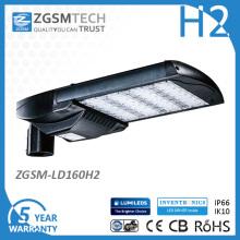UL Dlc aufgeführt LED Cobra Head Straßenlaterne 160W