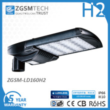 UL Dlc Listado LED Cobra Head Street Light 160W