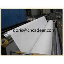 Composto de geogrid de fibra de vidro com geotêxtil não tecido de PP