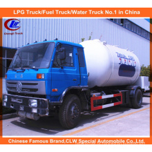Cilindro de gás de 4 * 2 LPG de Dongfeng que reabastece caminhões de Bobtail 5mt para a venda