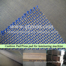Pressione a almofada para a prensa de laminação
