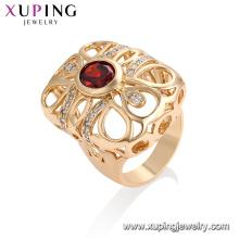 13290- Anillo más nuevo del diseño de la joyería de Xuping Fashion With18K plateado