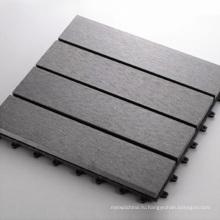 Поделки WPC настил плитки/настил WPC Сделай сам плитка (300*300мм)