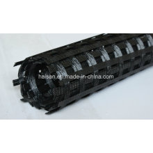 400 / 400kn Warp-Knitting High Tensile Biaxial Polyester Geogrid com Ce Certificate