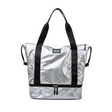 Wholesale High Quality Sports Waterproof Travel Bag Gym Bag Shoe Compartment Weekender Bag Woman