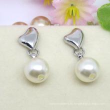 Pendiente de montaje de joyería de perlas de moda de venta caliente