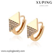 92709 Xuping nouvel été spécial plaqué or boucle d'oreille pour la fête