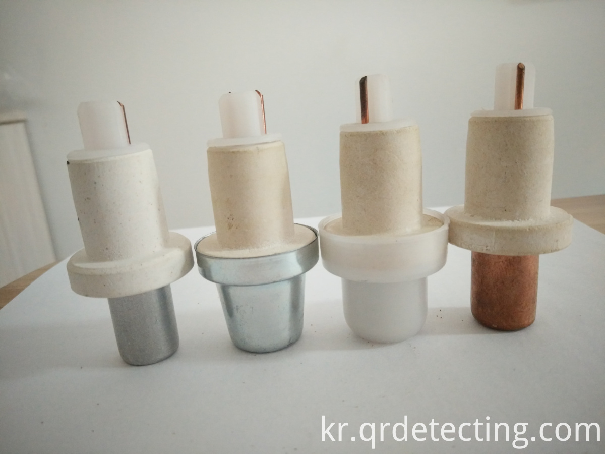 Thermocouple Tips with Different Caps