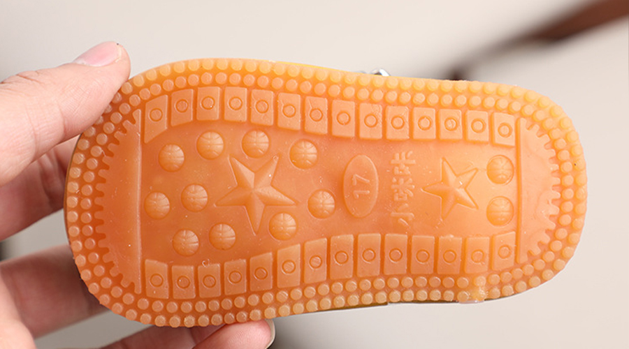 outsole of the baby shoes