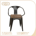 Sillas Triumph con asiento de madera / Sillón de comedor Marais de metal / Silla Marai Cafe con recubrimiento de polvo