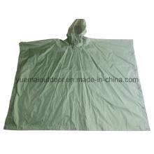 High Qualtiy Military Waterproof Poncho em nylon PU