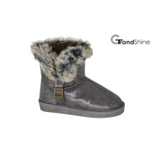Women′s New Arrival Collar Fur Snow Boots