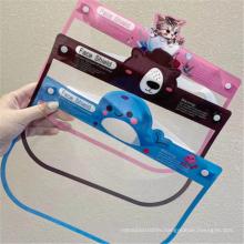 Kids Anti-dust Visor Shield Material Transparent PET Films
