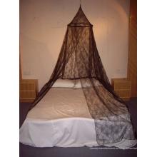 Черная сетчатая сетчатая кровать с навесом Mosquito Net