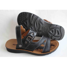Classic Style Men Beach Shoes Leather Upper (SNB-14-019)