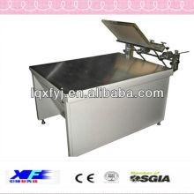 máquina de impresión de pantalla de seda manual con succión de vacío de alta precisión para la venta