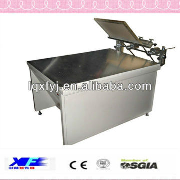 manual silk screen printing machine with high precision vacuum suction for sale