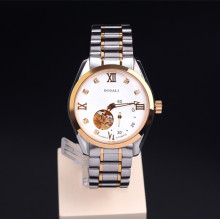 Men's Skeleton Watch Automatic Mechanical Crystal Watch
