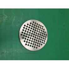 Plat d'ancre en acier allié adapté aux besoins du client pour la pompe à vide