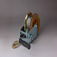 2500lbs long wire rope balck electro hand winch with double speed