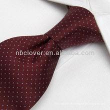 Handgefertigte Seidengewebte Krawatte