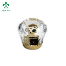 OEM plastic beauty tube round acrylic cap for tube