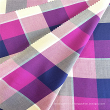 Plaid Woven 100% Rayon Yarn Dyed Blouses Fabric