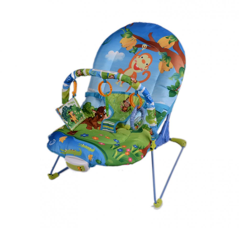Overside Seat Paly Cradle Bouncer with Music and toys
