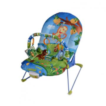 Oversized Seat Play Cradle Bouncer With Music