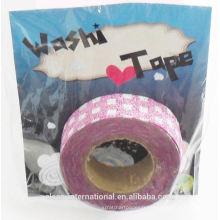 bande de washi japonaise de paillettes