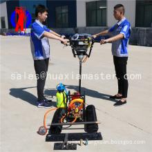 Lockbar rotary drilling rig for crawler rig