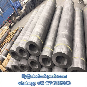 Graphite Electrode 350mm HP with standard/custom nipples