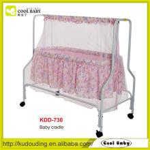 Baby Swing Cama Doméstico Diversos Baby Supplies Produtos Fabricante NOVO Design Swing Bed bebê com mosquiteiro