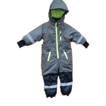 Wave Reflective Hooded Waterproof Jumpsuits/Voerall/Coverall/Raincoat