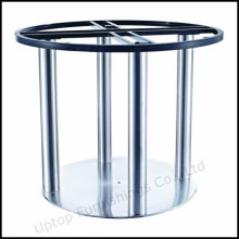 Stainless Steel Dining Table Pedestal for 8 Seats (SP-STL254)
