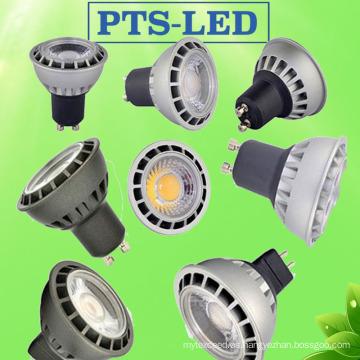 Proyector de LED 5W 6W GU10 mazorca con Ce UL