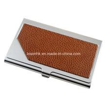 Chritmas Gift Leather Porte-cartes de visite, titulaire de carte de visite