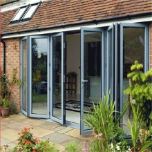 Modern Australian Double Glazed Aluminium Folding Doors