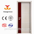 New decorative interior wooden MDF Melamine doors