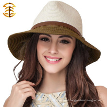 2015 new Fashion Women Casual Beach Topee Sunbonet Straw Hat