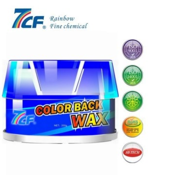 color polish car wax