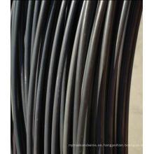 2016 nuevo producto recocido de alambre negro por la fabricación de China