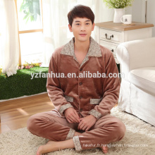 Hiver chaud Coral Fleece Homme Costume Chine fournisseur