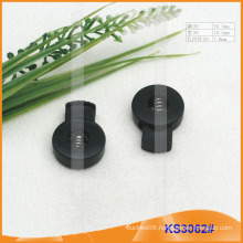 Nylon cord stopper or toggle for garments,handbags and shoes KS3062#
